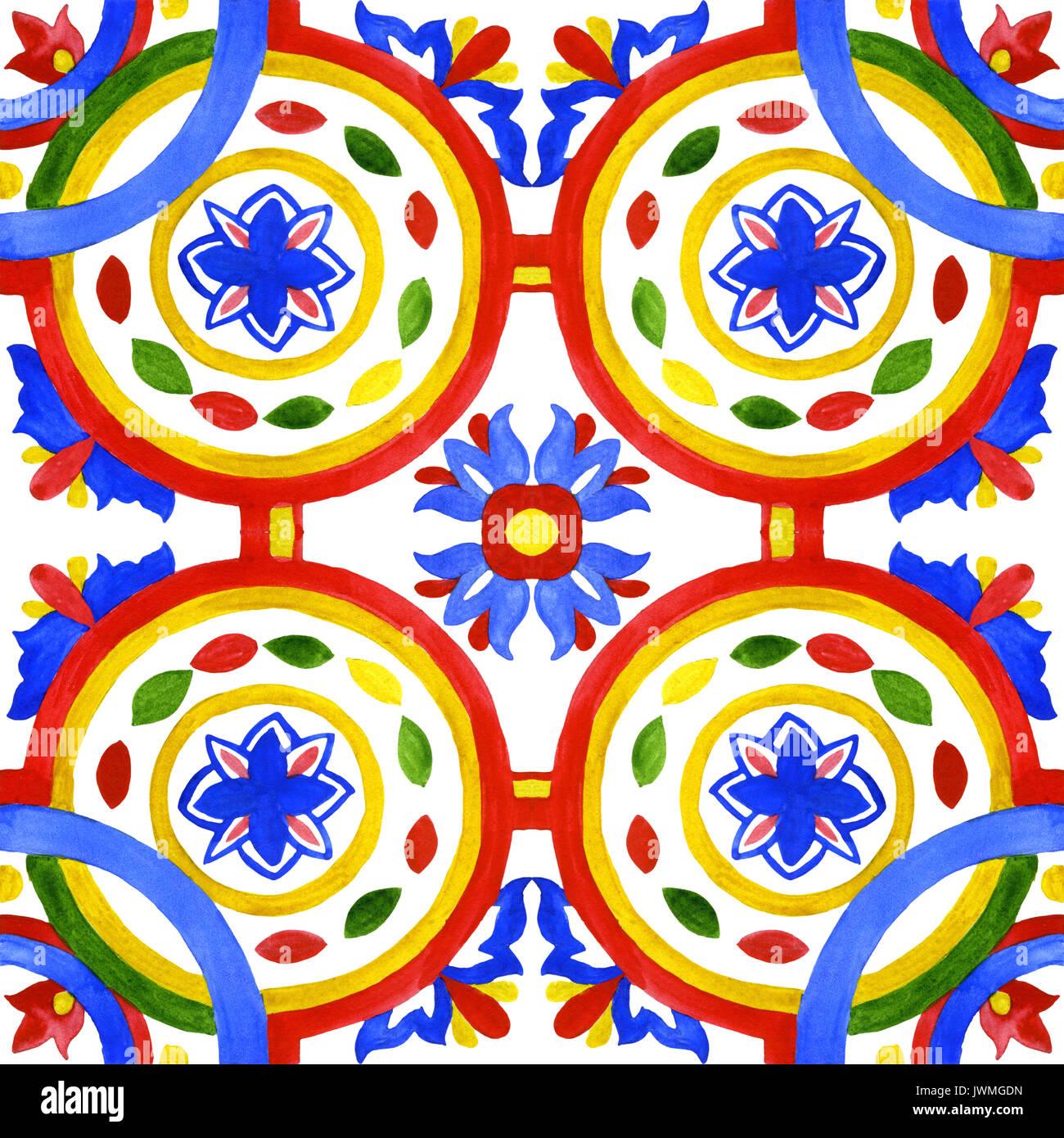 Portugiesische Azulejo Kacheln Wunderschöne Nahtlose Muster Für - Tapete portugiesische fliesen