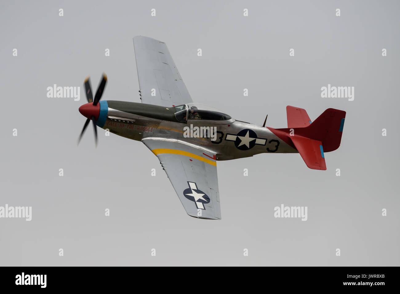 P-51 Mustang Fighter Stockbild