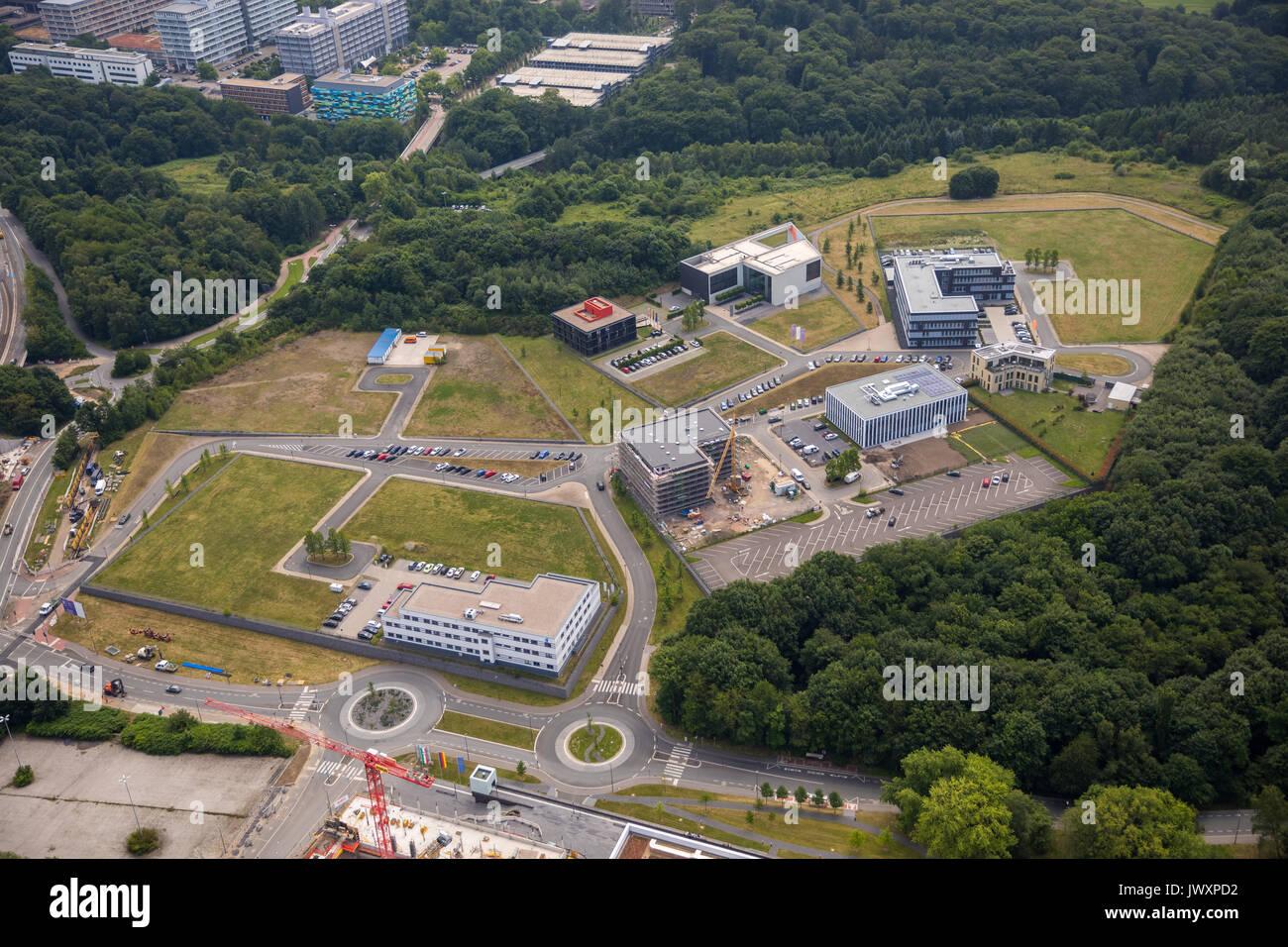 Health Campus Bochum, Verband medizinische Berufe eV, GBTEC Software Consulting AG, State Center Gesundheit Nordrhein-westfalen LZG.NRW, Bochum, Ru Stockbild