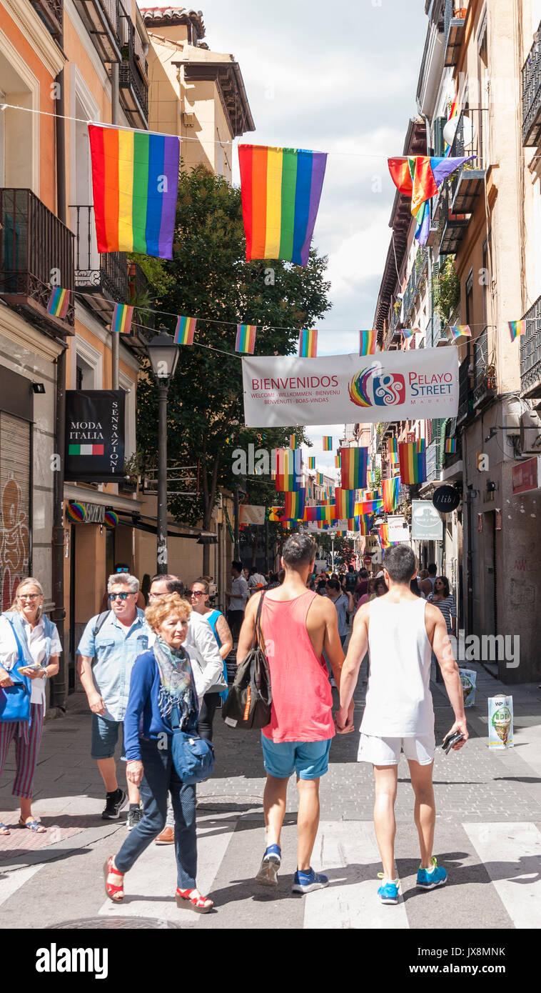 Barrio Chueca Stockfotos & Barrio Chueca Bilder - Alamy