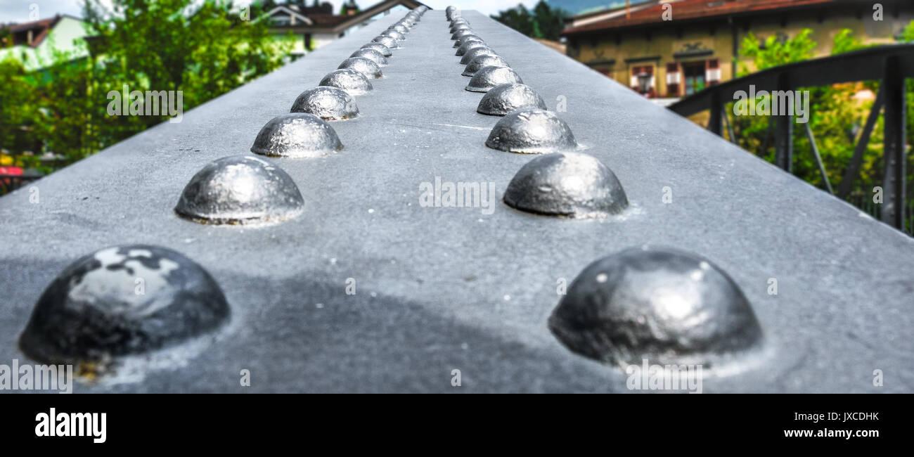 Niet Brücke Stockbild
