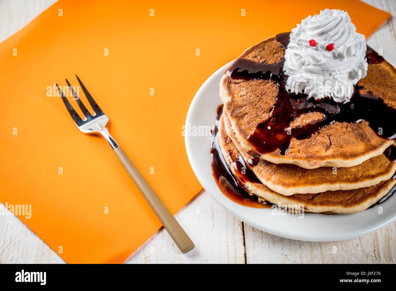 Ideen für Kinder Frühstück, behandelt für Thanksgiving und Halloween ...