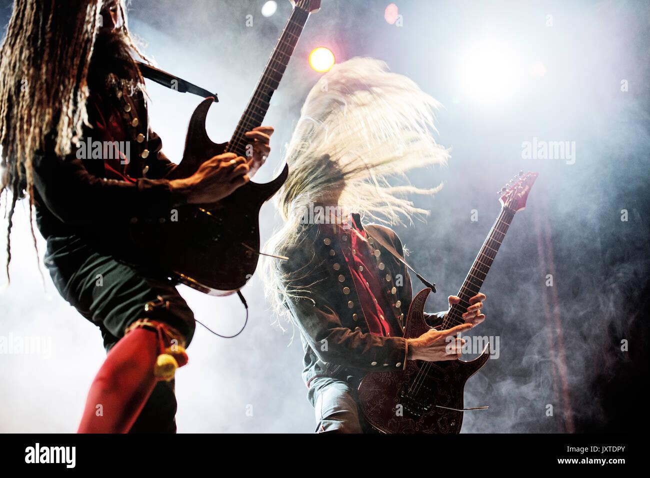 Juni: Avatar (Musik Band) im Konzert an Download (Heavy Metal Musik  Festival) am 24. Juni 2017 in Madrid, Spanien.