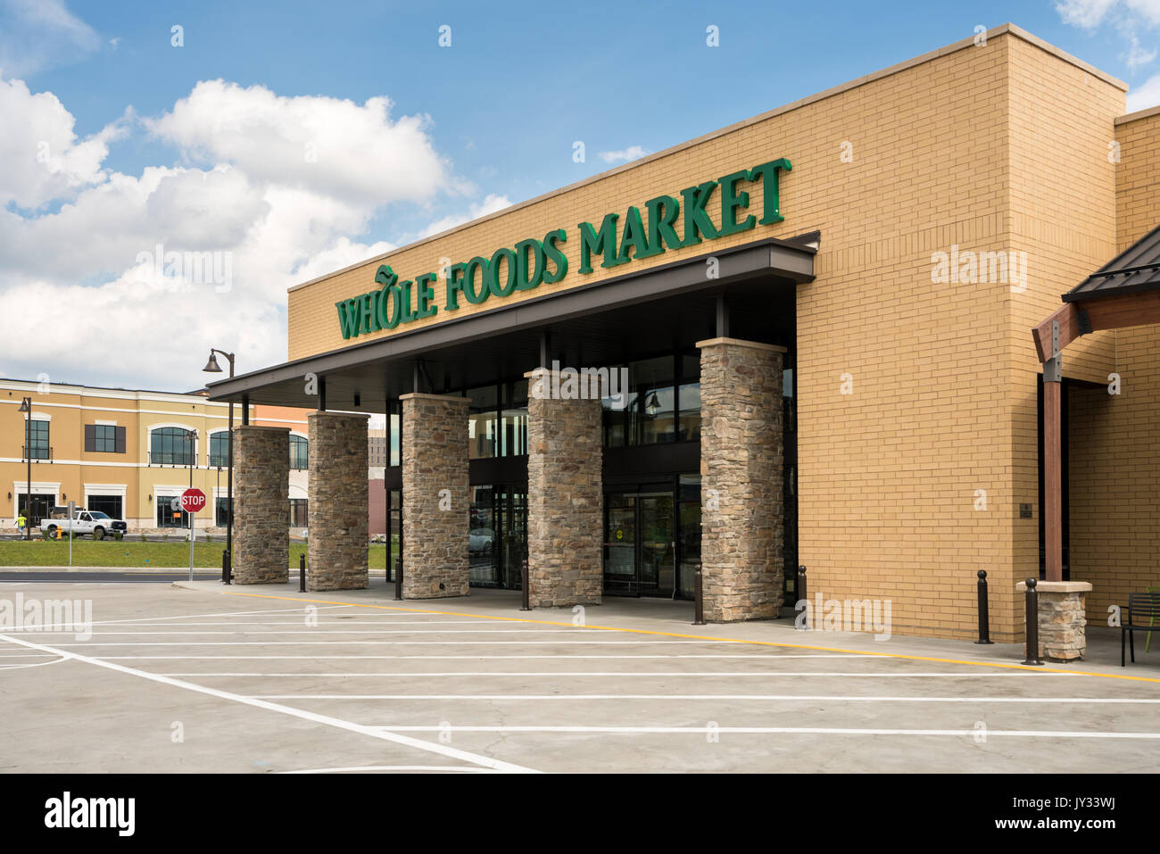 Whole Foods Market Stores in Pittsburgh PA Stockbild