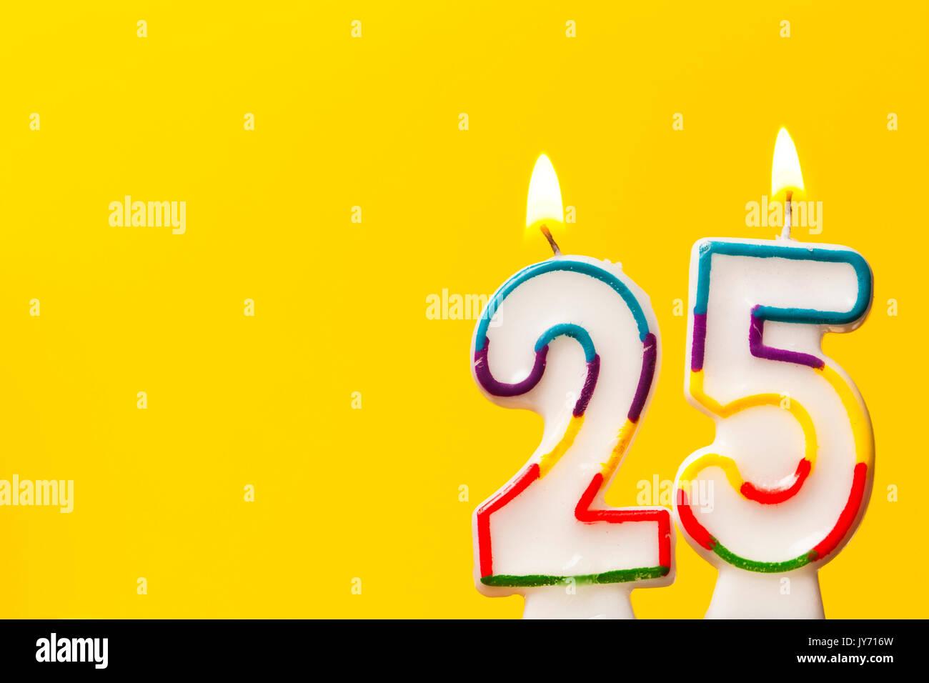 25 birthday stockfotos 25 birthday bilder alamy - 25 geburtstag bilder ...