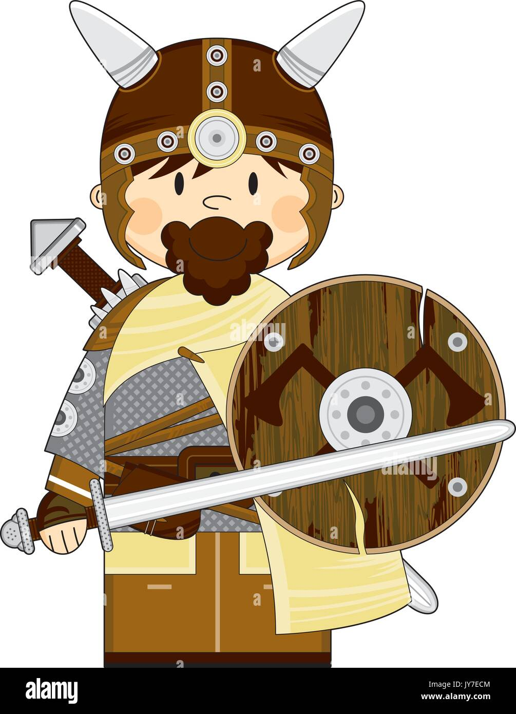 Shield Sword Cartoon Stockfotos & Shield Sword Cartoon Bilder - Alamy