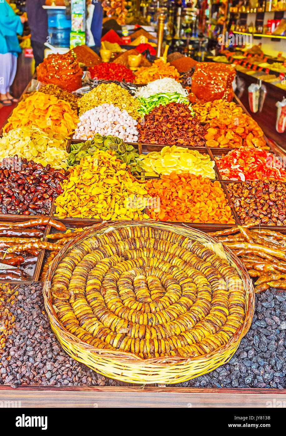 dried fruit bazaar market stockfotos dried fruit bazaar market bilder alamy. Black Bedroom Furniture Sets. Home Design Ideas
