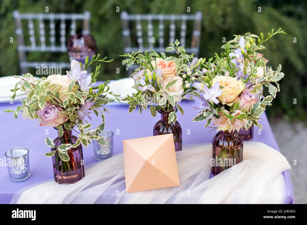 Blumen Tischdekoration Fur Urlaub Und Hochzeit Abendessen Tisch Fur