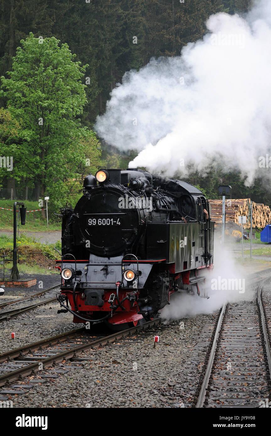 99 6001 4 Luft Rund Bei Eisfelder Talmuhle Harzer Schmalspurbahnen