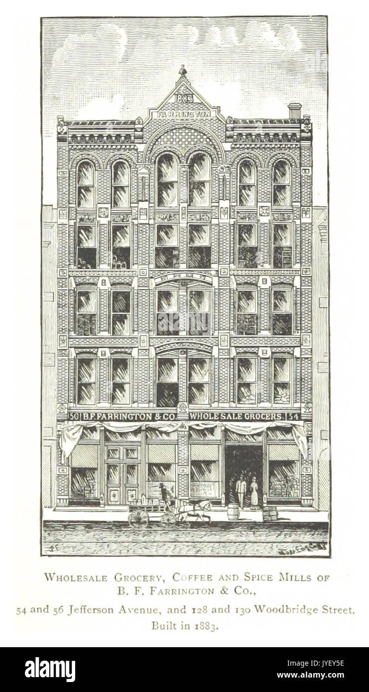 Bauer 1884 Detroit P 841 Grosshandel Lebensmittel Kaffee Und