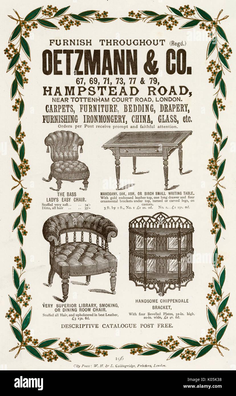 viktorianische mobel von oetzmann co hampstead london zur verfugung datum ca