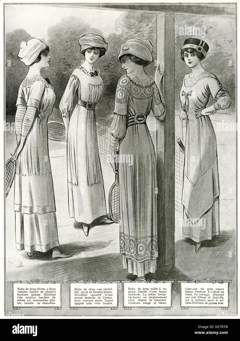 Vintage kleider 1910