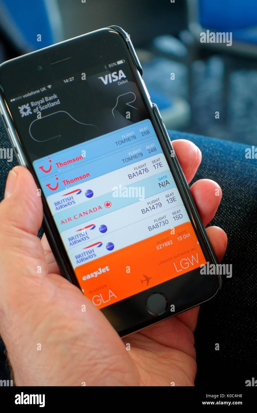 Dating-App für Flughäfen