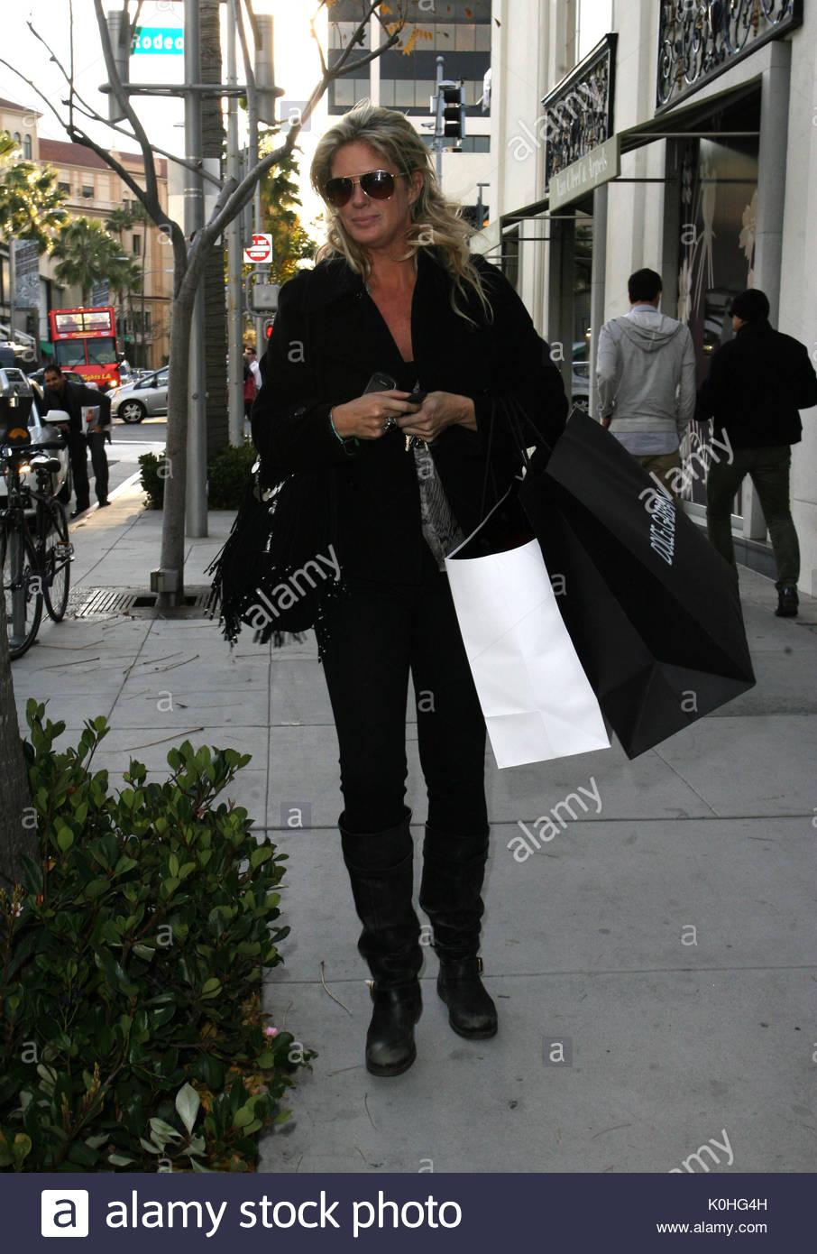 Rachel Hunter. Rachel Hunter, Ex-frau von Rod Stewart, gesehen ...