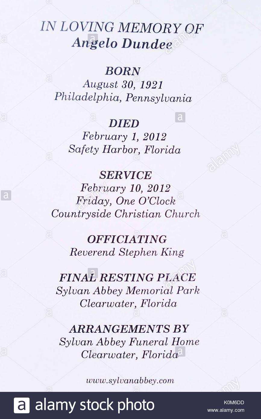 Großzügig Beerdigung Programm Vorlagen Herunterladen Bilder - Entry ...