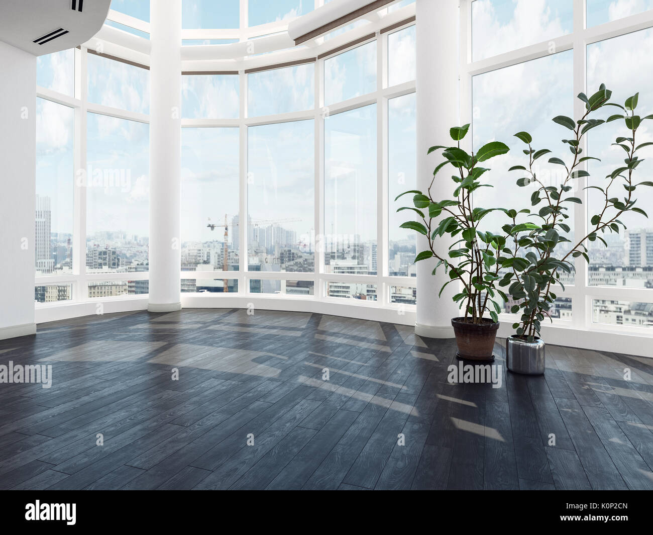 Fußboden Modern English ~ Leer leer stehenden modernen luxus apartment oder penthouse