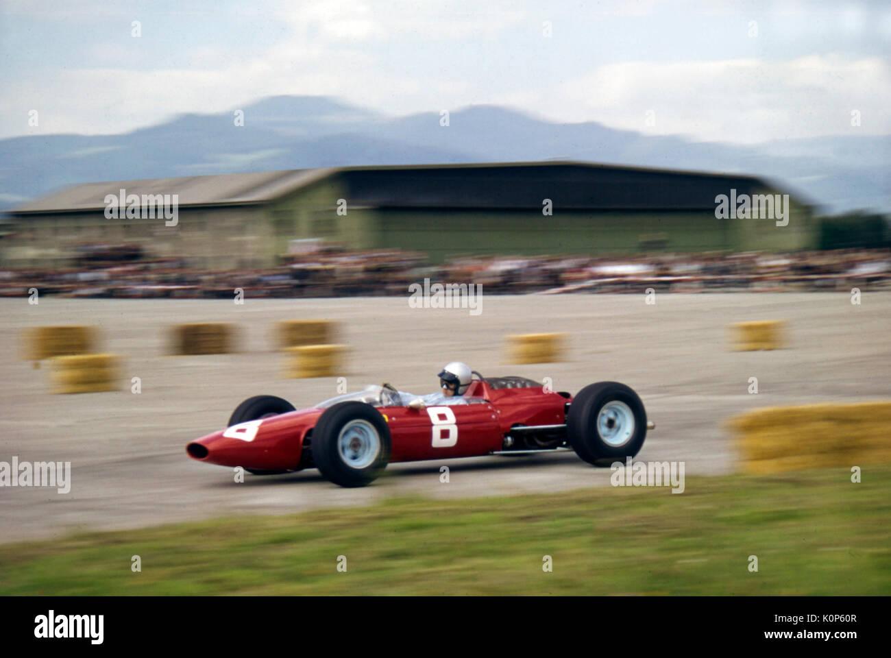 Ferrari 158 Lorenzo Bandini Sieger 1964 Grand Prix Von österreich Stockfotografie Alamy