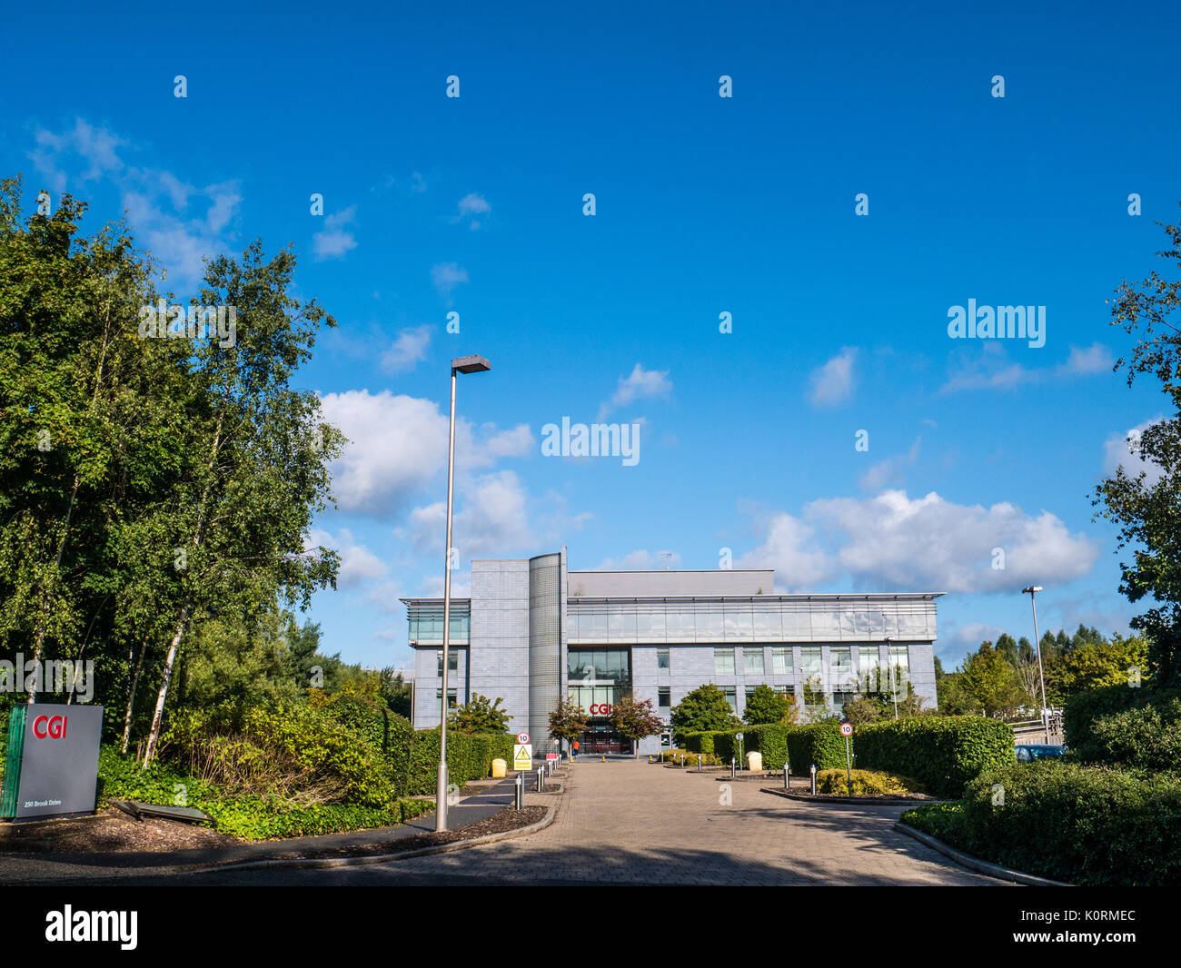 CGI, Reading, Berkshire, England Stockbild