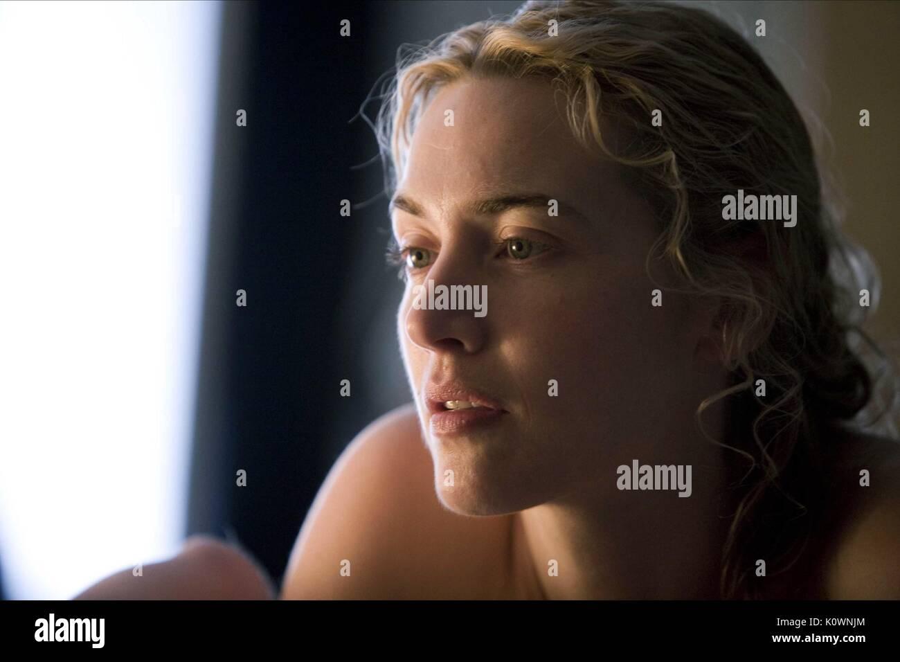 KATE WINSLET DER VORLESER (2008) Stockbild
