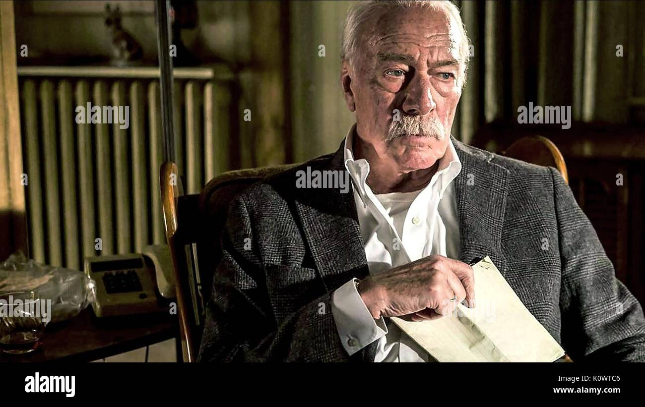 CHRISTOPHER PLUMMER ERINNERN (2015) Stockbild