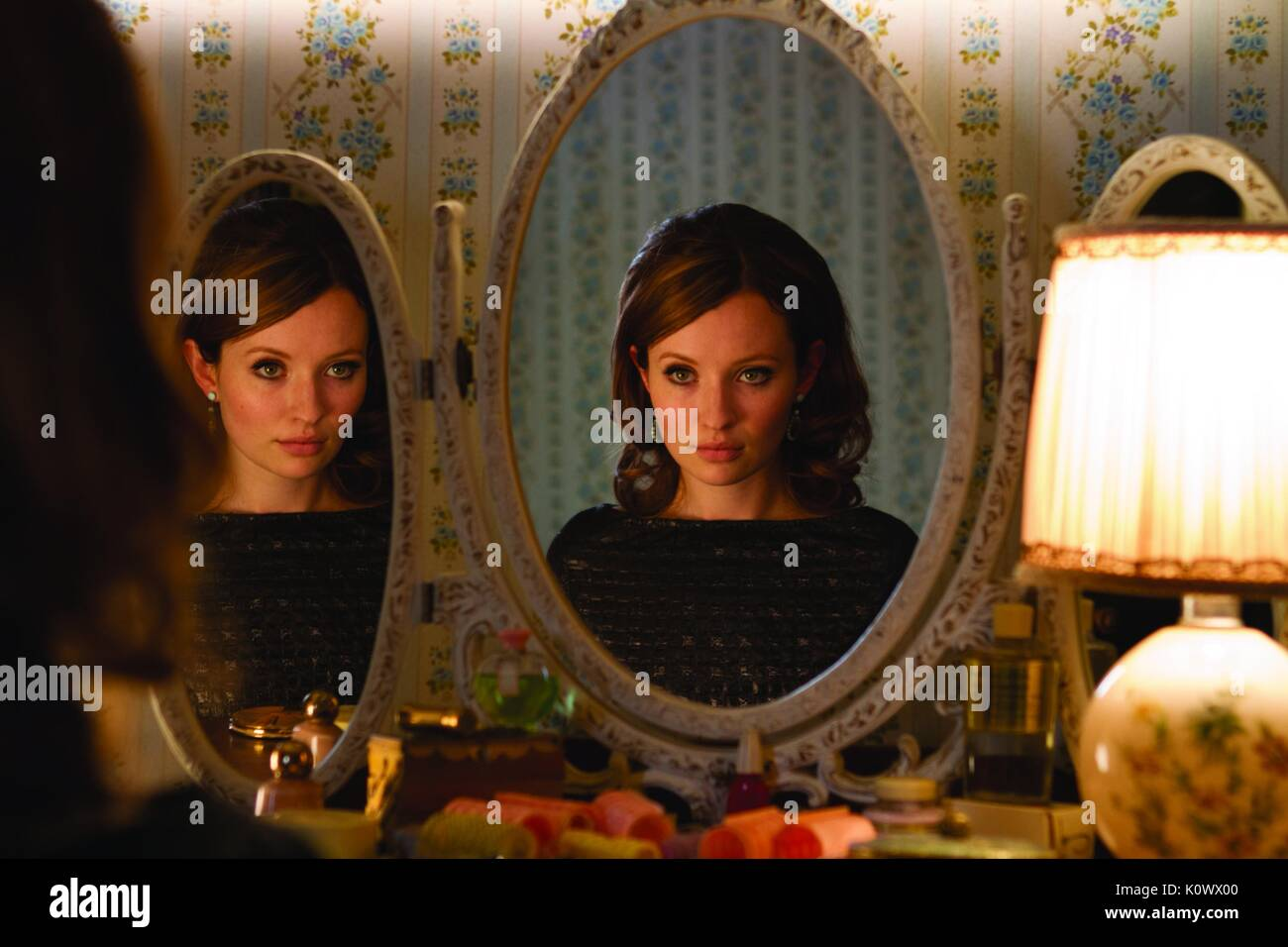 EMILY BROWNING LEGENDE (2015) Stockbild
