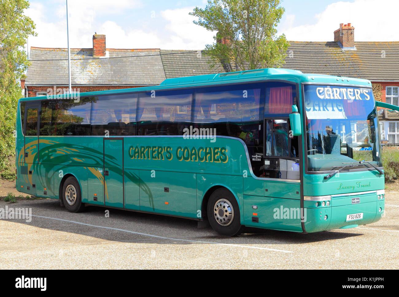 Carters Coahes, Trainer, Tagesausflüge, Reise, reisen, Unternehmen, Firmen, Ausflug, Ausflüge, Transport, England, Großbritannien Stockbild