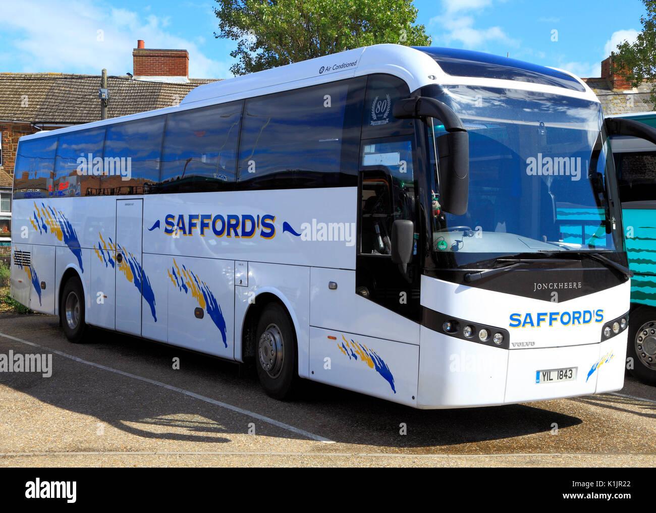 Saffords Coahes, Trainer, Tagesausflüge, Reise, reisen, Unternehmen, Firmen, Ausflug, Ausflüge, Transport, England, Großbritannien Stockbild