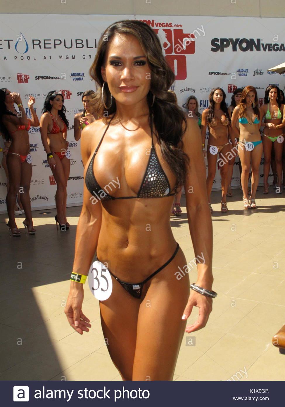 Bikini Contest Model