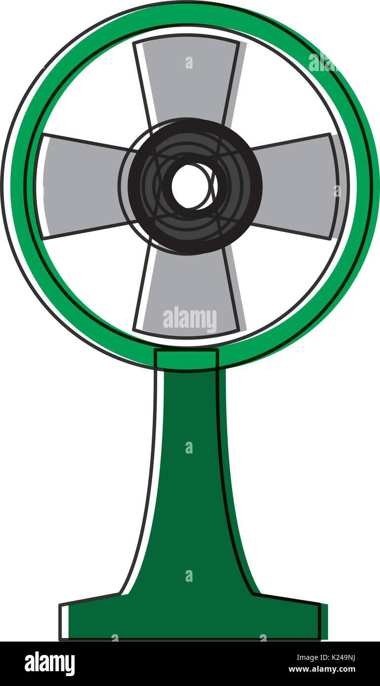 Fan-Symbolbild Stockbild