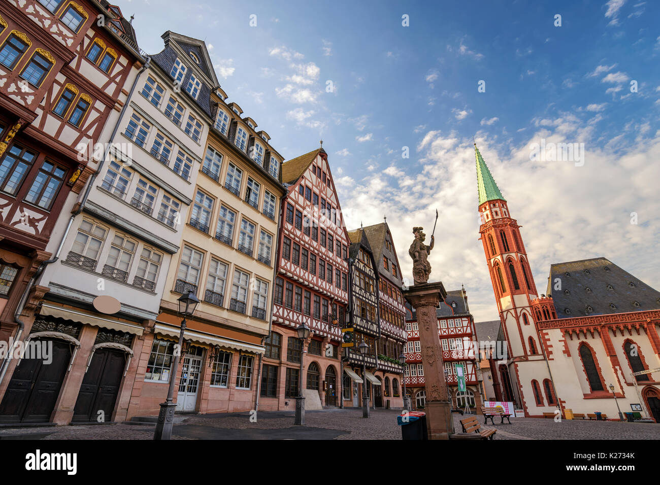 Römer (Rathaus der Stadt Frankfurt), Frankfurt am Main, Deutschland Stockbild