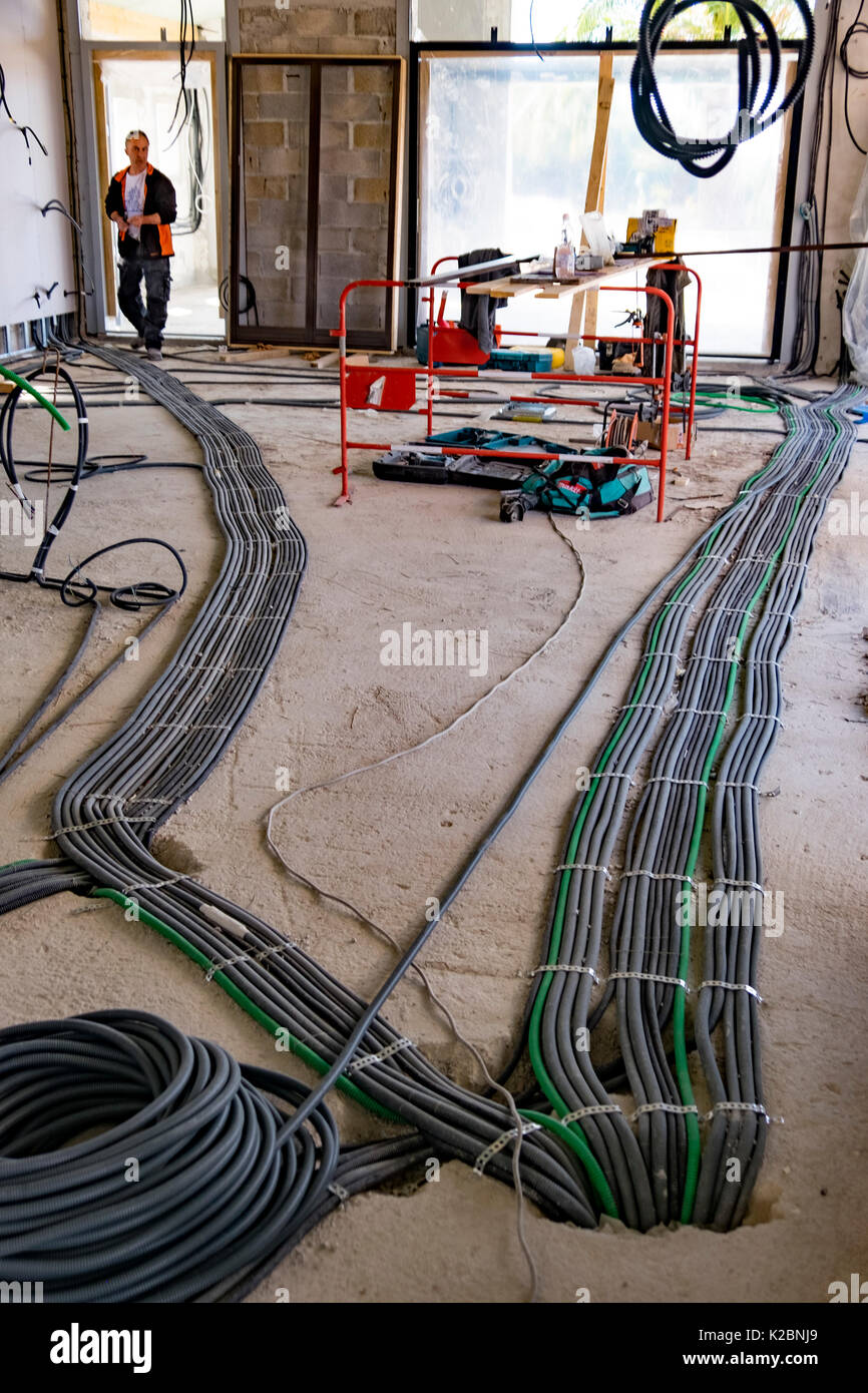 Electrical Wiring Stockfotos & Electrical Wiring Bilder - Alamy