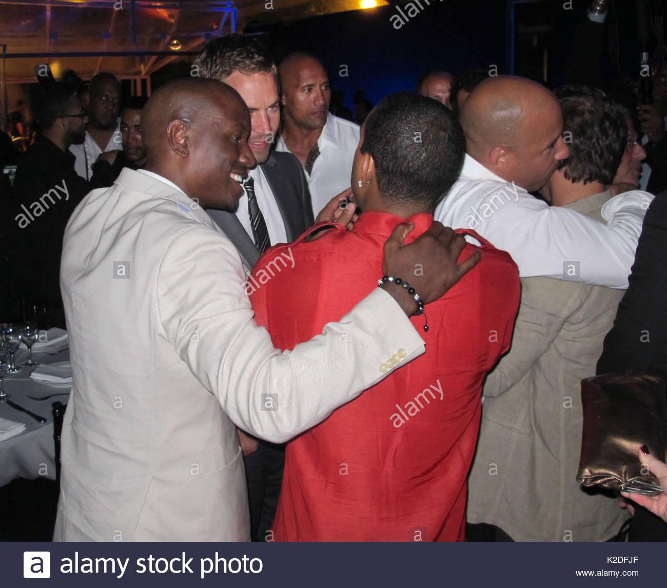 Vin Diesel, Ludacris und Dwayne Johnson. Vin Diesel Parteien die ...