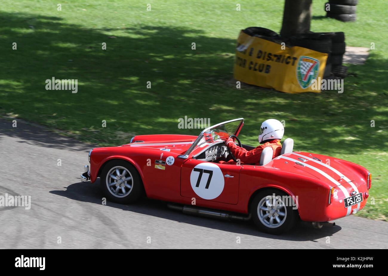 1961 Turner Mk2 in der Zeit Versuche an der Motorsport im Palace in Süd- London England 27 08 2017 konkurrierenden Stockbild