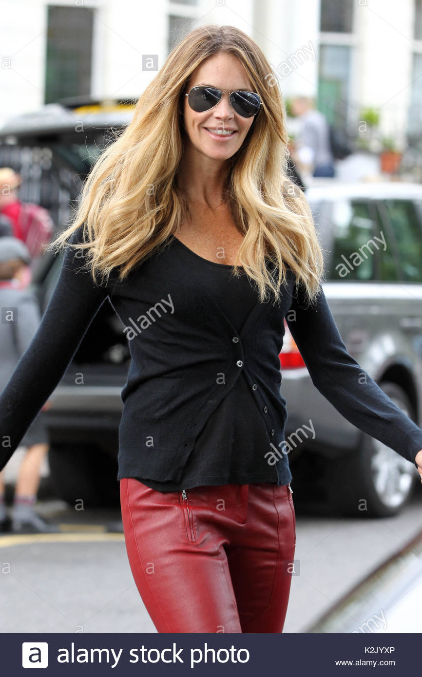 Isabel Marant Red Leather Trousers Stockfotos & Isabel Marant Red ...