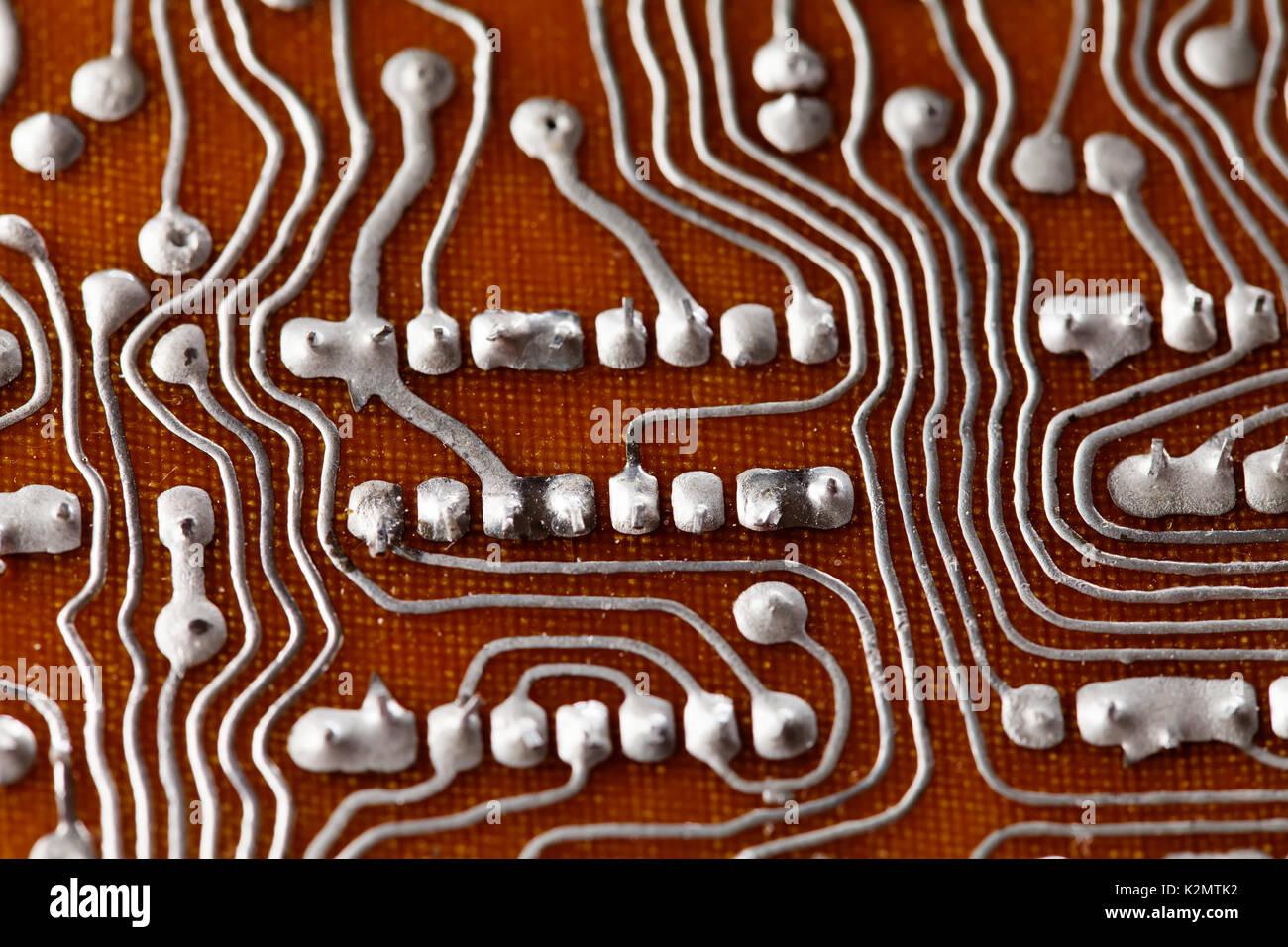 Electric Circuit Motherboard Stockfotos & Electric Circuit ...