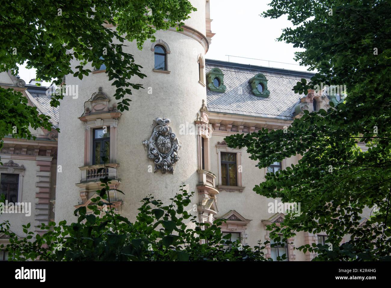 schloss st emmeram von thurn und taxis familie regensburg deutschland stockfoto bild. Black Bedroom Furniture Sets. Home Design Ideas