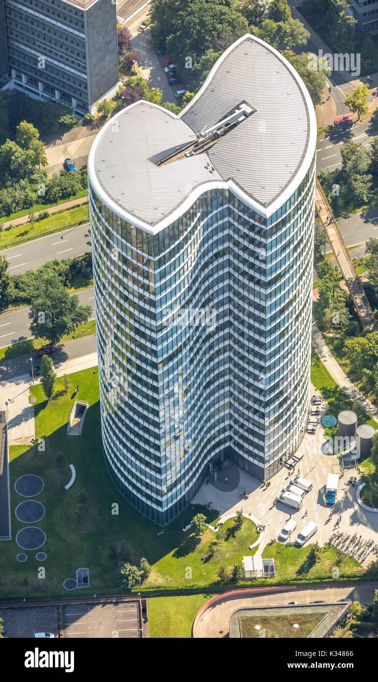 Office Tower McKinsey & Company, Inc., Kennedydamm 24, Benningsen Platz, Düsseldorf, Rheinland, Nordrhein-Westfalen, Deutschland, Düsseldorf, Europa, Stockbild