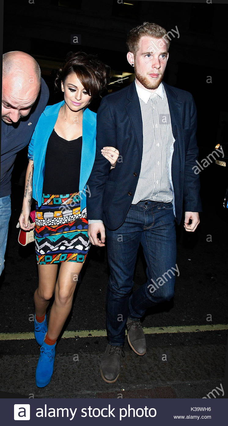 Cher Lloyd Und Craig Monk Cher Lloyd Und Craig Monk Am May Fair