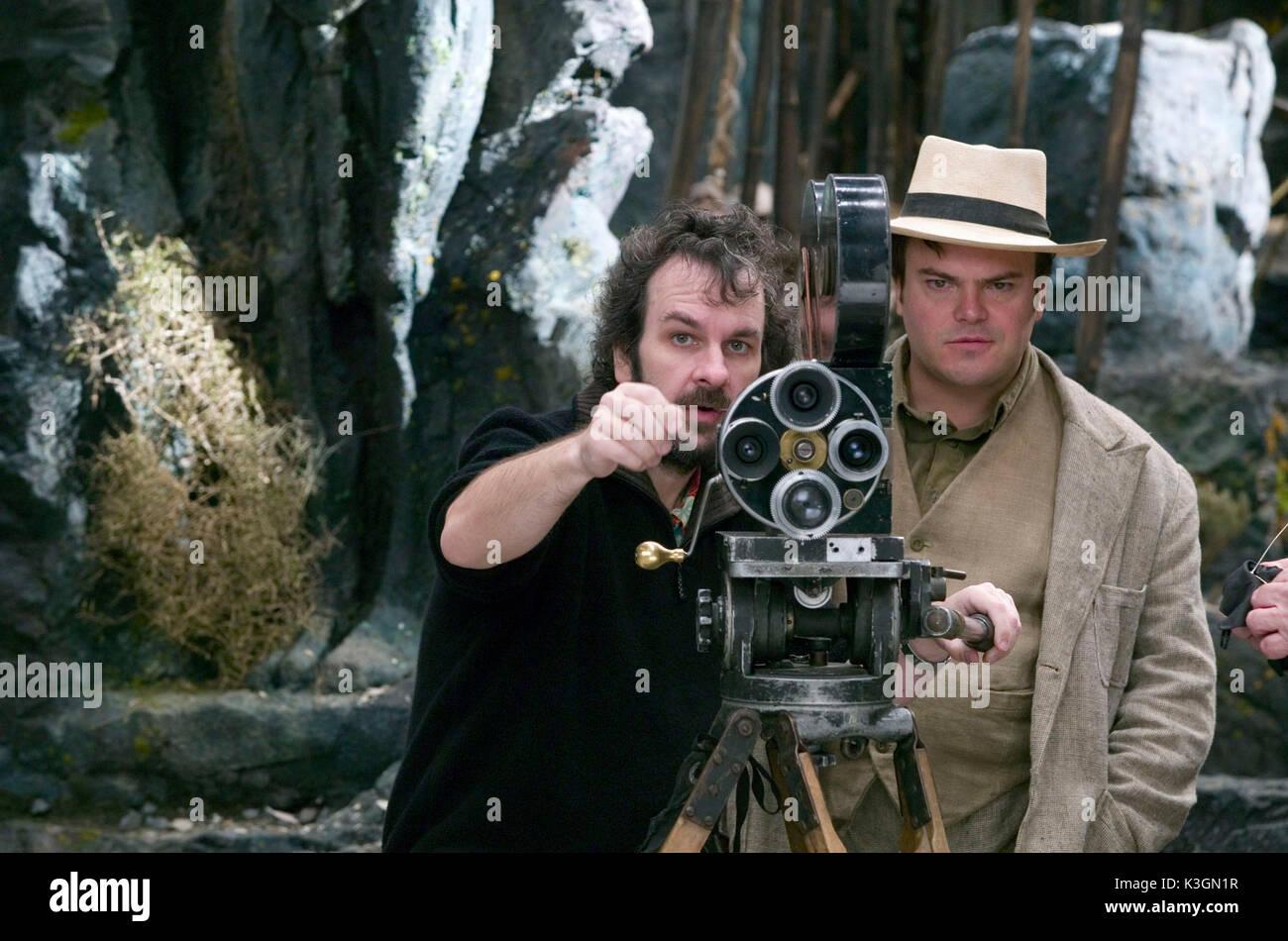 KING KONG Regisseur Peter Jackson, JACK BLACK Datum: 2005