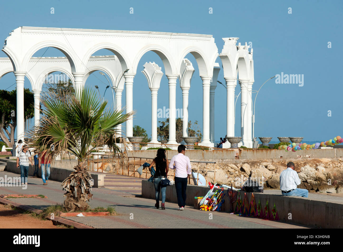 Türkei, Mersin, Adnan Menderes Kültür Parki Stockbild