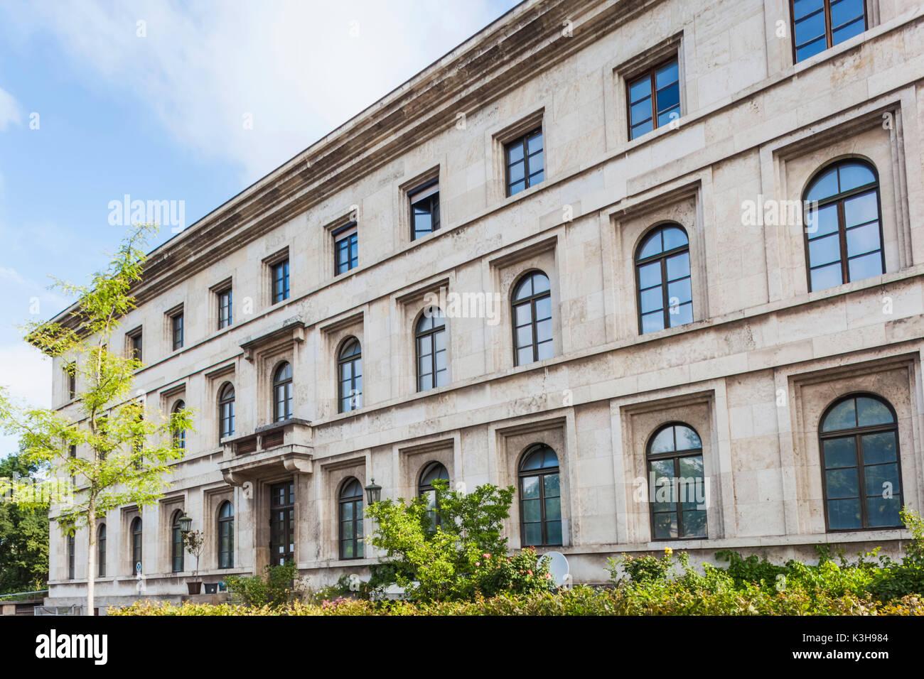 """Deutschland, Bayern, München, das """"braune Haus"""", ehemaliger Sitz der nationalen Sozialistischen Deutschen Arbeiterpartei aka NSDAP Stockbild"""