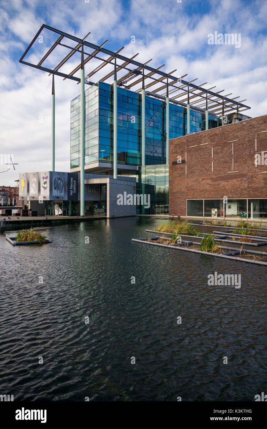 Niederlande, Rotterdam, Het Nieuwe Instituut, Institut für Zeitgenössische Architektur und Design, außen Stockbild