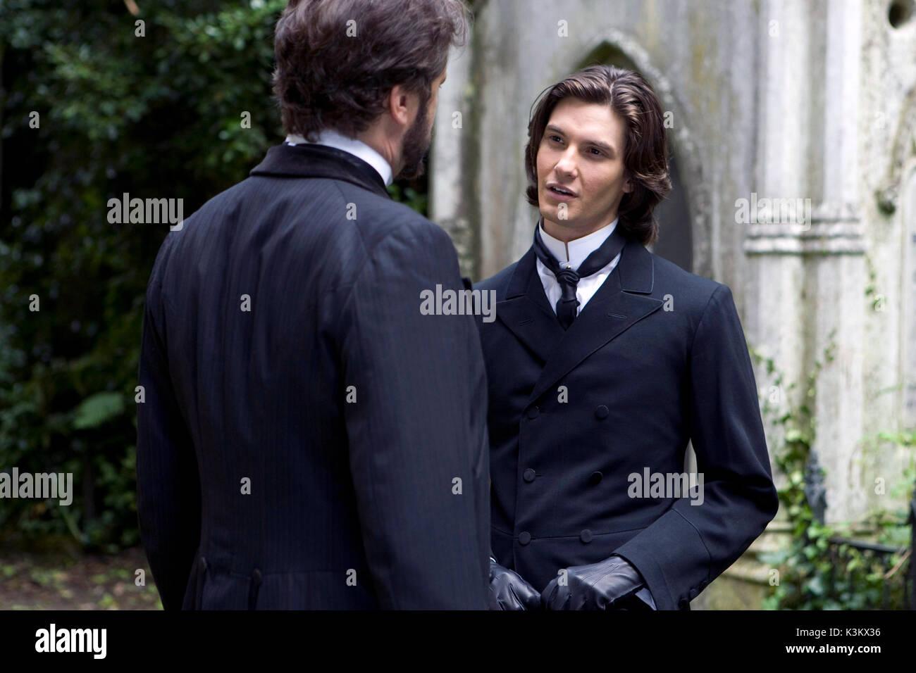 DORIAN GRAY Colin Firth als Lord Henry Wotton, Ben Barnes als Dorian Gray Datum: 2009 Stockbild