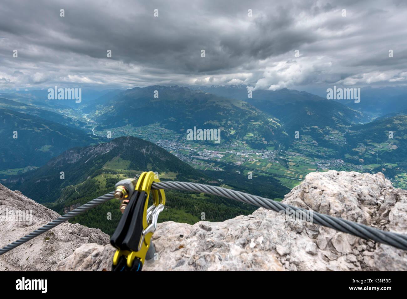 Klettersteig Osttirol : Lienzer dolomiten osttirol Österreich blick vom klettersteig