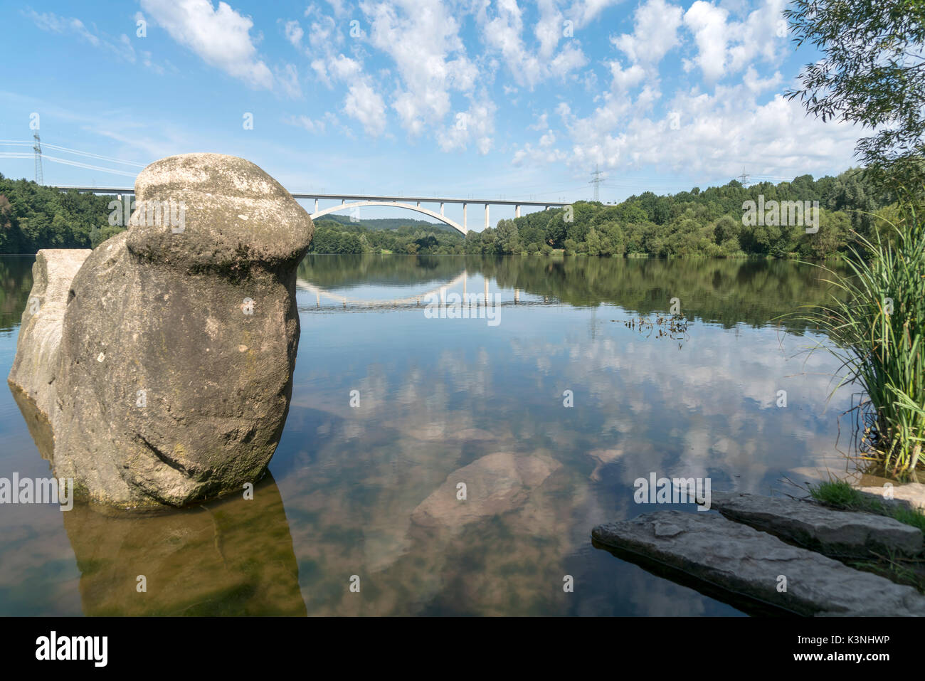 Stausee Und Talbrücke Froschgrundsee Froschgrundsee Bei Rödental