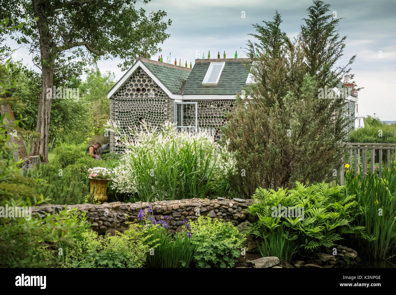 Wunderschöne Gärten wunderschöne gärten an der flasche häuser eine touristische