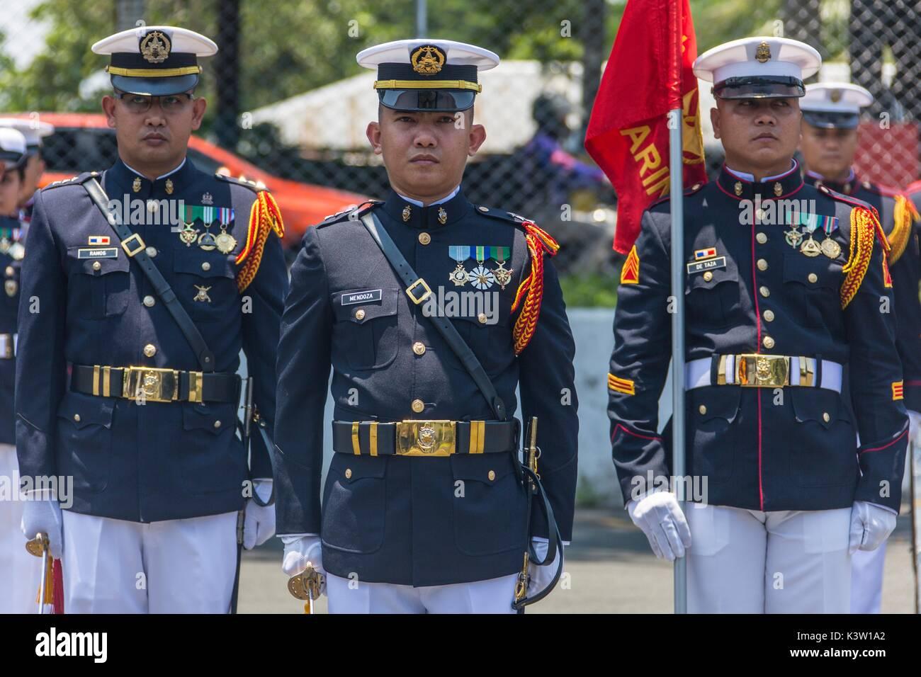 Marine Standorte der Armee Philippinen