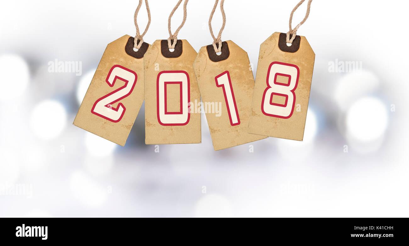 Kunst Weihnachten Neujahr Dekoration 2018 Und Urlaub Licht Auf