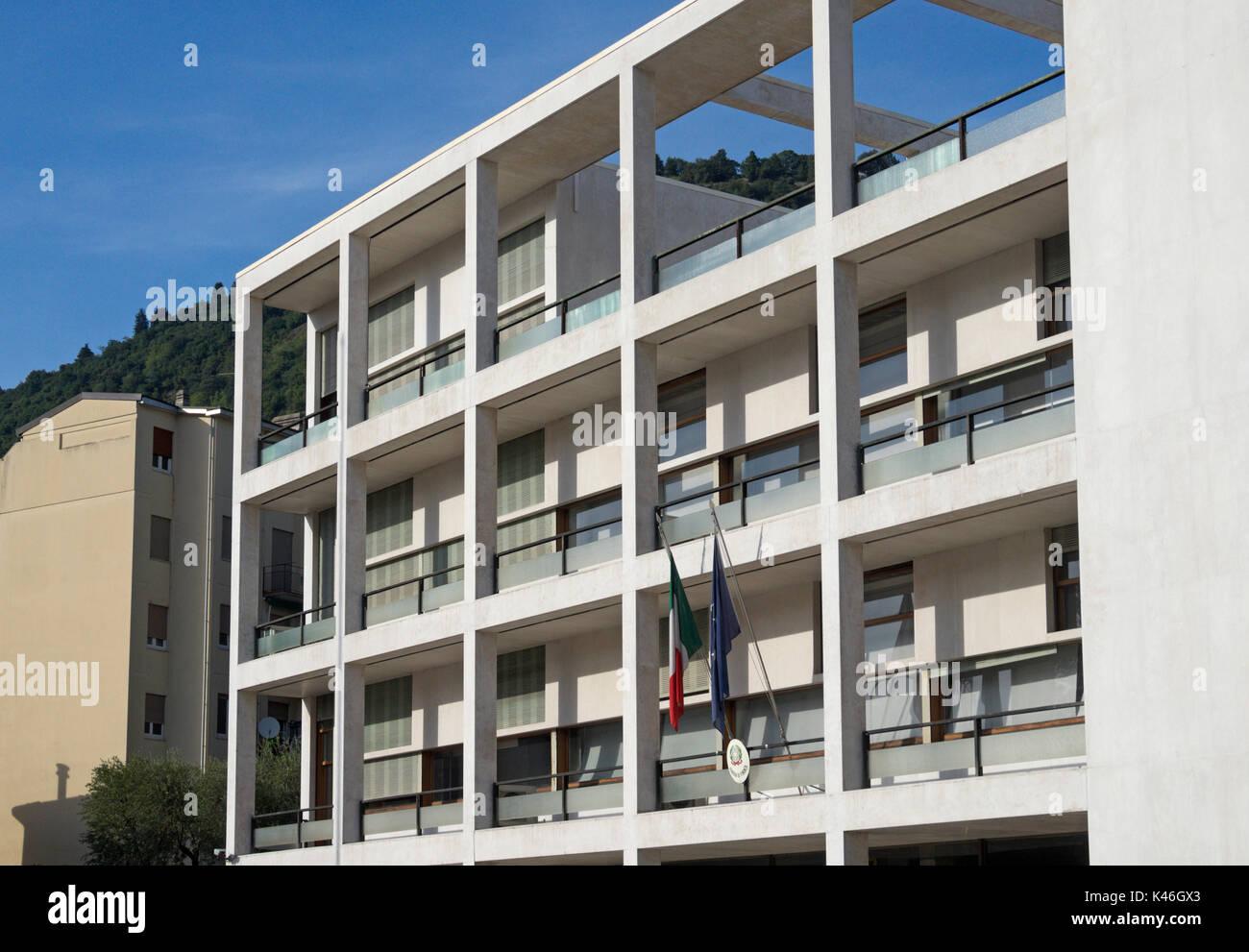 Terragni como stockfotos terragni como bilder alamy for Giuseppe terragni casa del fascio