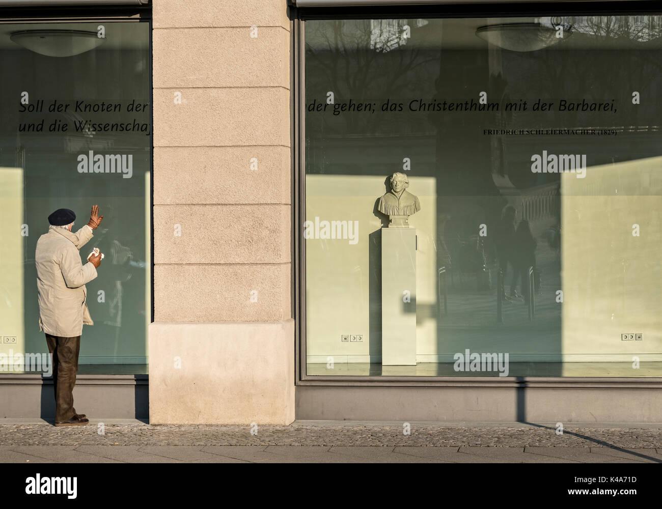 Im Shop Wondow Stockbild